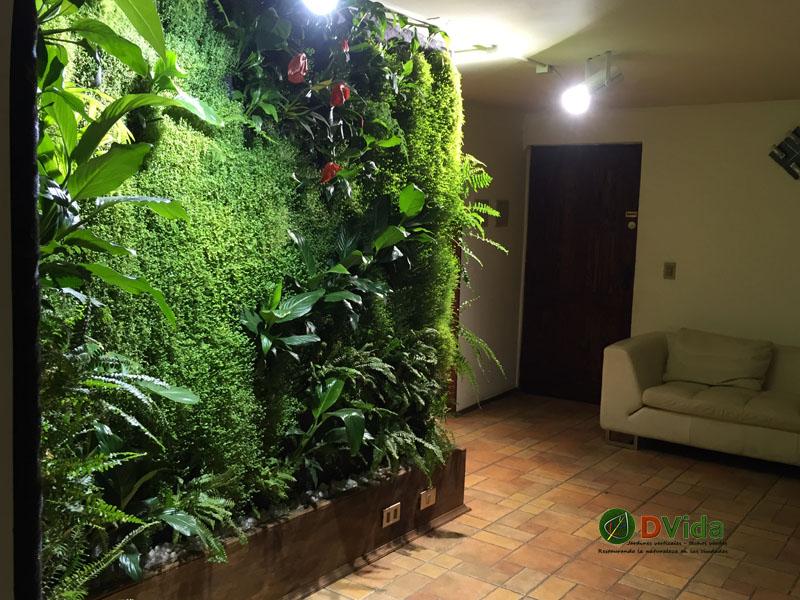 Muros verdes Naturaleza al interior de tu edificio